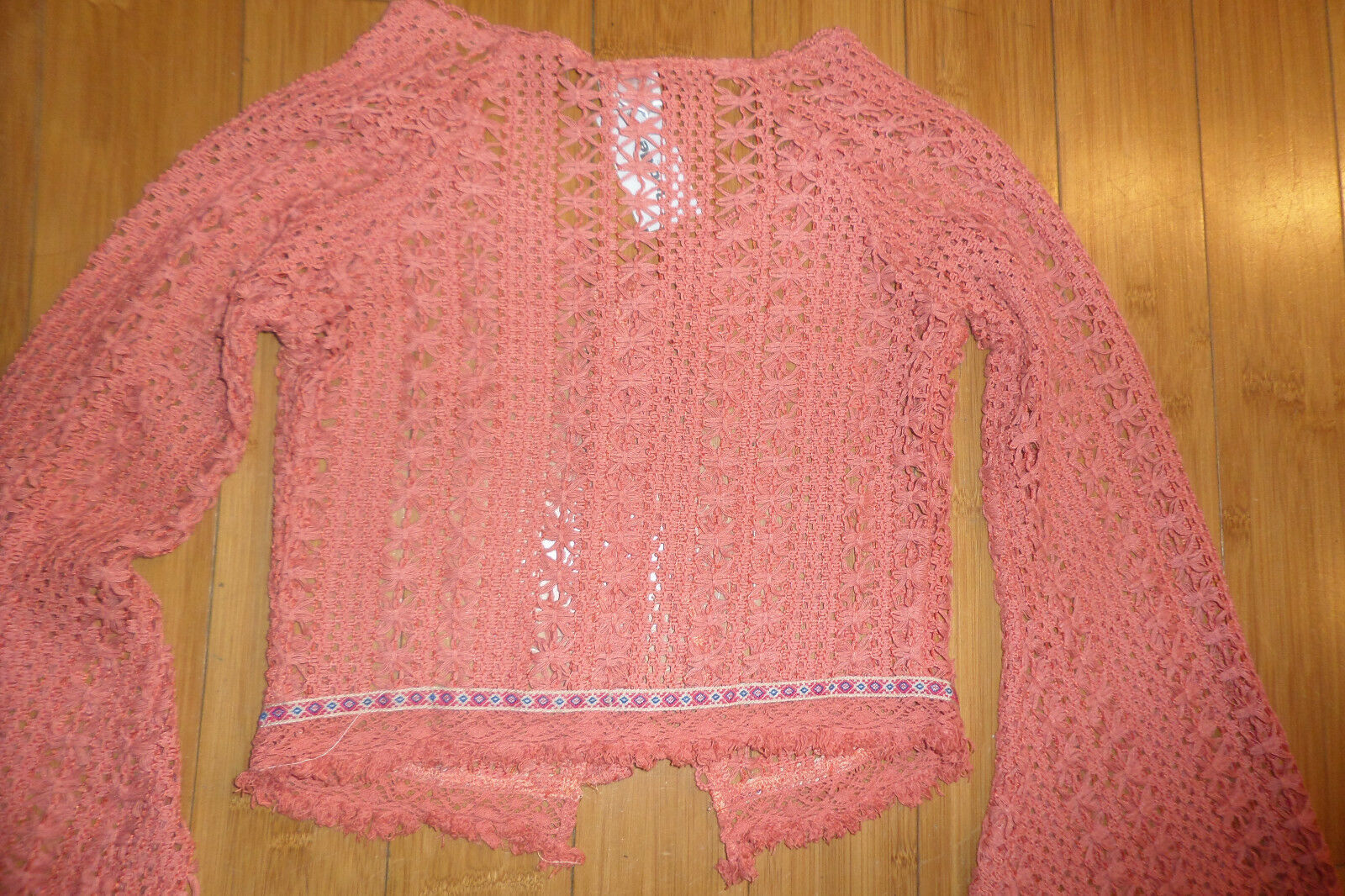 Daytrip The Buckle Cropped Cardigan Sweater sz XS NWT image 10