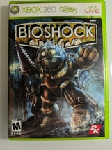 BioShock (Microsoft Xbox 360, 2007)INCLUDES, THE CASE+DISC +MANUAL - $7.99