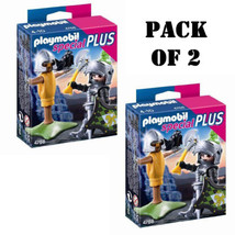 Pack of (2) Playmobil 4768 Lion Knight with Tra... - $11.38