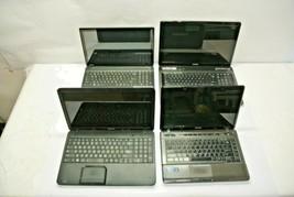 Qty (4) Toshiba Satellite Laptops for PARTS/REPAIR - bad kbd, bad DVD, h... - $250.00