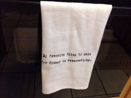 The Best Message Kitchen Gift Towel  Made in USA by Hand image 3