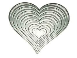 Heart Nesting Dies, Set of 7