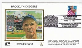 HOWIE SCHULTZ BROOKLYN DODGERS JACKIE ROBINSON STADIUM BROOKLYN 4/15/97 ... - $2.98