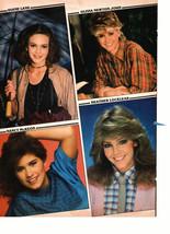 Olivia Newton John Heather Locklear Diane Lane John Stamos teen magazine pinup