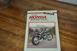 Clymer Honda 400-450 78-87 Repair Manual - $12.99