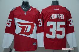 Swen Logo Detroit Red Wings 35 Jimmy Howard Red Stadium Series Jerseys - €44,37 EUR
