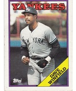 1988 Topps Dave Winfield - $3.00