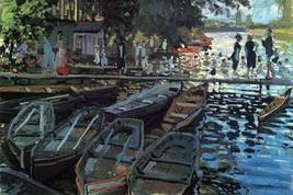 Bathers at La Grenoulli re by Claude Monet - Art Print - $19.99+