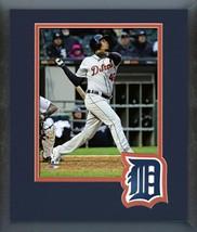 Jeimer Candelario 2018 Detroit Tigers -11x14 Team Logo Matted/Framed Photo - $43.95