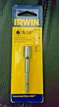"Irwin Tools 3548321C Single Magnetic Nutsetter, 5/16"" - $6.79"