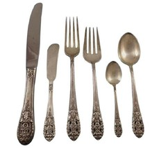 Crown Princess by International Sterling Silver Flatware Set 8 Service 4... - $2,300.00
