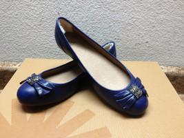 UGG ROHEN CRYSTAL BOW INK BLOT BLUE SHOE US 8.5 / EU 39.5 / UK 7 - $71.05