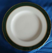 "Cavendish Leather Green by Royal Worcester Bone China Salad Plate 8"" - $9.90"