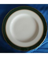 """Cavendish Leather Green by Royal Worcester Bone China Salad Plate 8"""" - $9.90"""