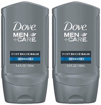 Dove Men+Care Post Shave Balm, Hydrate+, 3.4 Fl Oz, Pack of 2 image 12