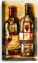 VINTAGE TUSCAN WINE BOTTLES COLLECTION LIGHT SWITCH OUTLET PLATES KITCHEN DECOR image 5