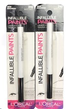 (2) Loreal Infallible Paints Liquid Eyeliner, 310 White Party - $10.88