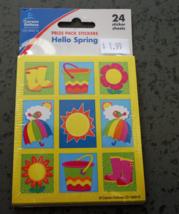 Hello Spring Prize Pack Stickers rewards crafts... - $1.99