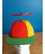 Vintage 90's Interstellar Propeller Hat Child size Cap Made In USA Frog  - $17.77