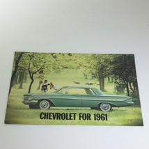 Chevrolet for 1961 Bel Air Series Sport Coupe 4-Door Sedan Car Catalog Brochure - $14.25