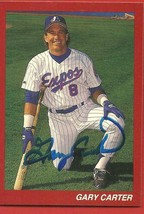 GARY  CARTER   ORIGINAL  AUTOGRAPHED   HAND  SIGNED  CARD   EXPO's  BASE... - $19.99
