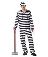 Men's Jailbird Convict Costume - $22.99