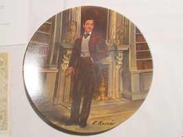 """""""Rhett"""" ,  Gone With The Wind ,  Collector Plate , Orig Box & COA . Knowles - $75.00"""