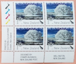 4 Central Otago,  New Zealand stamps MNH - $2.95