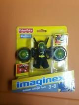 IMAGINEXT_DC Super Friends Collection_BATMAN figure with JET PACK_New & ... - $19.99