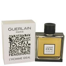 Lhomme Ideal by Guerlain Eau De Toilette Spray 3.3 oz for Men #526648 - $65.49