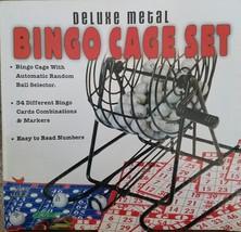 Cardinal Industries Deluxe Metal Wire Cage Bingo Set - $10.62