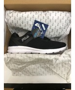 New Fila Rapidblast Men's Black/White COOLMAX Memoy foam Sz 8 - $49.49
