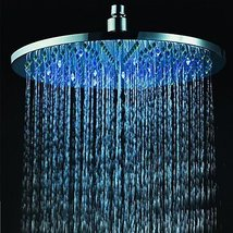 12 inch Brass Shower Head with Color Changing LED Light - $158.35