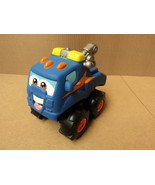 Tonka Tow Truck 6 1/2in W x 9 1/2in L x 9in H Blue/Multicolor Plastic - $16.92