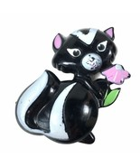 Vintage 1972 Collectible Avon Sniffy Skunk Pin Pal Fragrance Glace Perfu... - $16.79