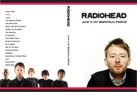 RADIOHEAD - GLASTONBURY FESTIVAL 2003 DVD - $23.50