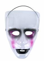Transparent Halloween Masque - Jour de The Dead / la Purge, B, Déguisement - £1.89 GBP