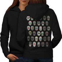 Skull Sugar Acid Sweatshirt Hoody Concert Women Hoodie Back - $21.99+