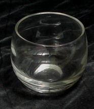 Nice Non-Footed Snifter Glass, VERY GOOD CONDITION, GREAT DESIGN - $7.91