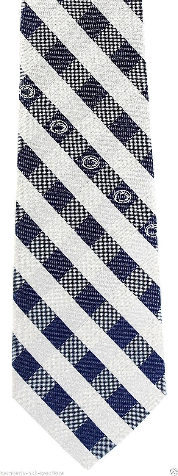 Syracuse Orange /'Cuse Men/'s Necktie College University Logo Rhodes Blue Neck Tie