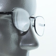 Reading Glasses Matte Black Metal Oval Petite Frame +3.00 Lens - $18.00