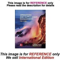Operations and Supply Chain Management: The Core by F. Robert Jacobs, 5t... - $49.90