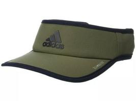 Adidas Superlite Visor Raw Khaki & Black Fishing Sun Summer OSFA Adjusta... - $29.70