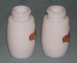 Vtg SPICE OF LIFE Salt and Pepper Shakers- ChromeTops -Corelle Gemco Corning GU  image 4