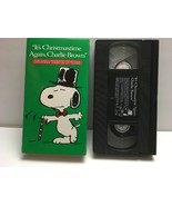 It's Christmastime Again, Charlie Brown 1992 VHS 1st Peanuts Christmas i... - $7.55