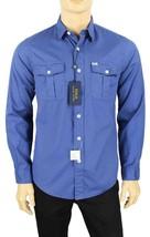 New Mens Polo Ralph Lauren Chest Pocket Button Front Beach Twill Shirt M - $41.99