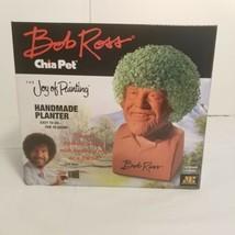 Bob Ross Chia Pet The Joy of Painting Handmade Planter New - $60.78