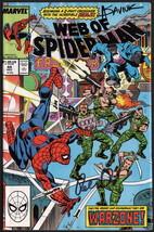 Web of Spider-Man #44 SIGNED Peter David & Alex Saviuk Comic Art / Marve... - $24.74