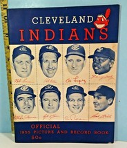 1955 Cleveland Indians Official Picture & Record Sketchbook  - $39.55