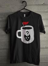 Curious Cat's Coffee Men's T-Shirt - Custom (1323) - $19.12+